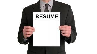 Резюме для приема на работу