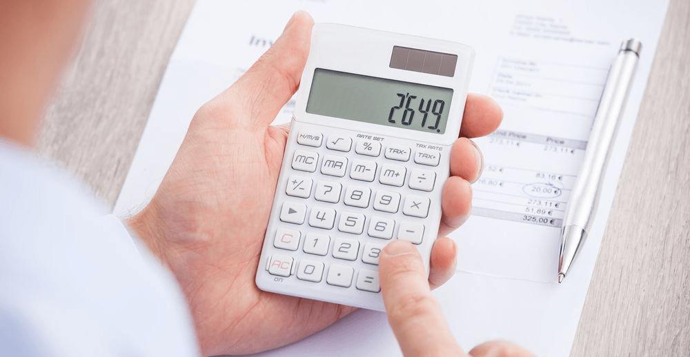 Расчёты на калькуляторе