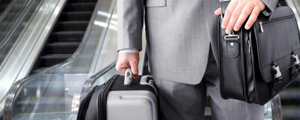 Человек с чемоданами