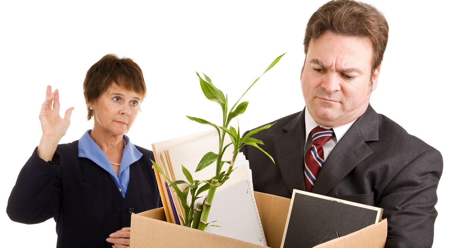 как жестко уволить работника