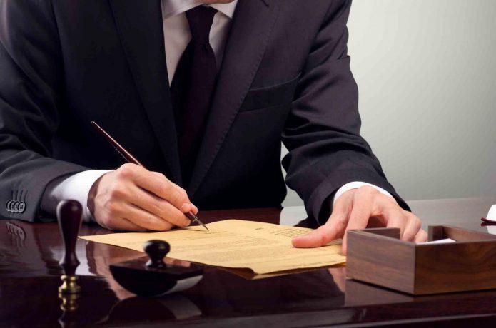 Юрист в работе