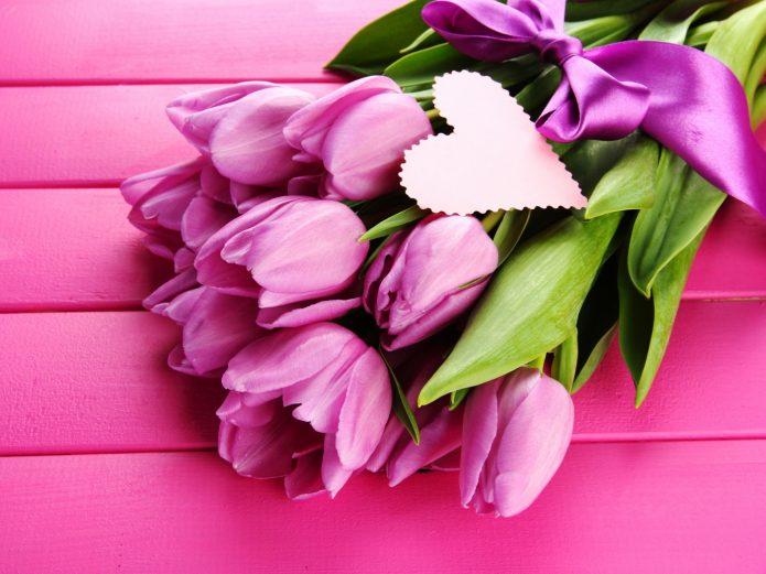 Цветы ко Дню святого Валентина