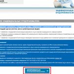 Онлайн-регистрация ИП на сайте ФНС, шаг 2