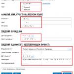 Онлайн-регистрация ИП на сайте ФНС, шаг 7