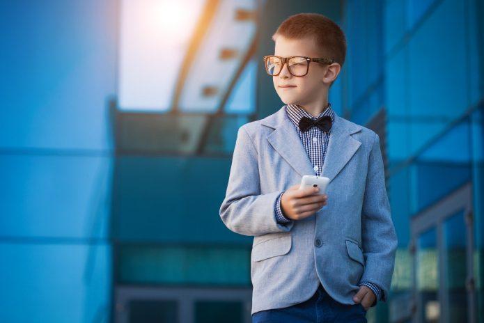Подросток бизнесмен