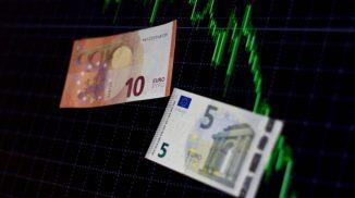 евро снизился
