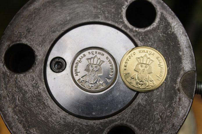 Клише для чеканки монет