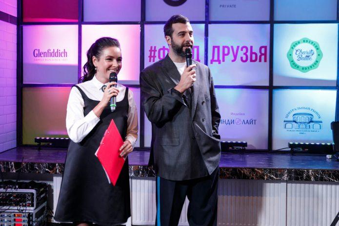Иван Ургант и Ирена Понарошку