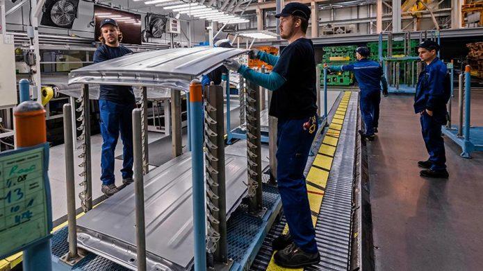 Конвейерное производство