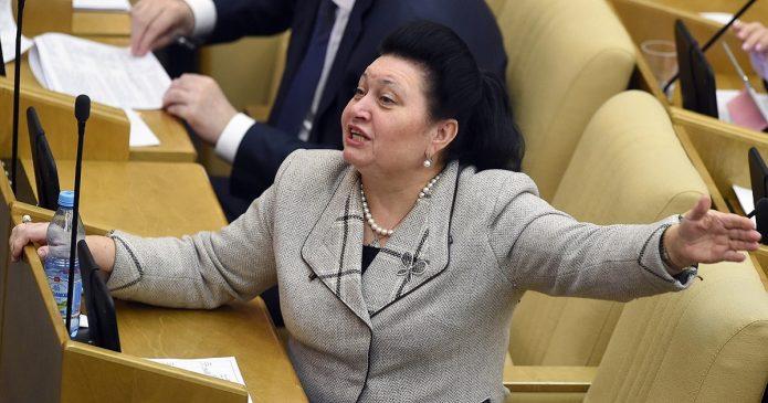 Депутат на обсуждении вопроса