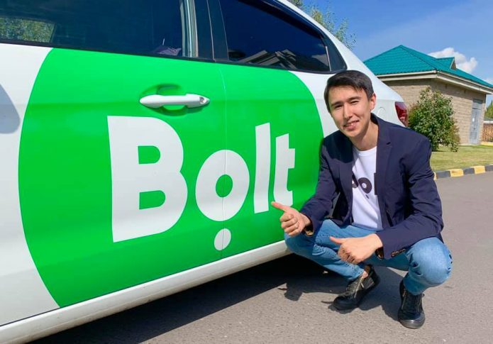 Сервис такси Bolt