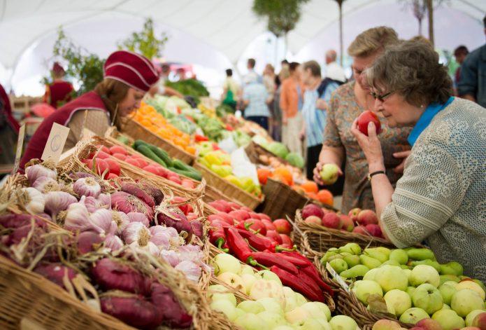Продажа своих овощей и фруктов