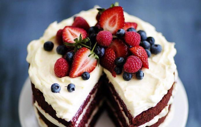 Реклама самодельных тортов